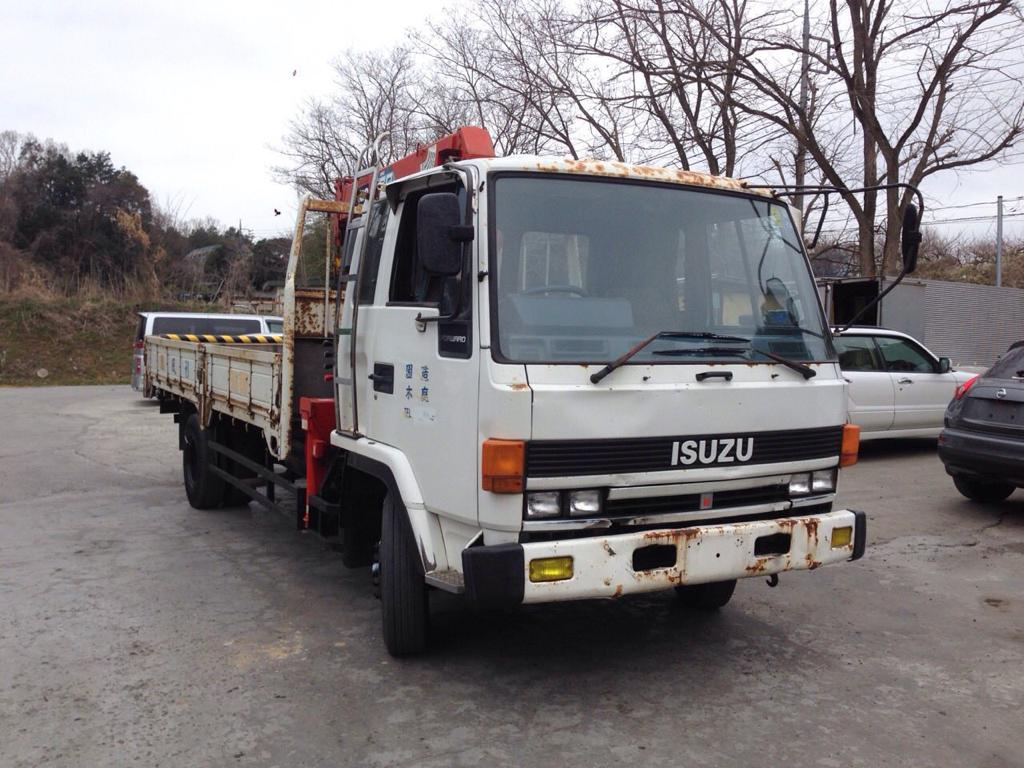 Isuzu Forward Crane