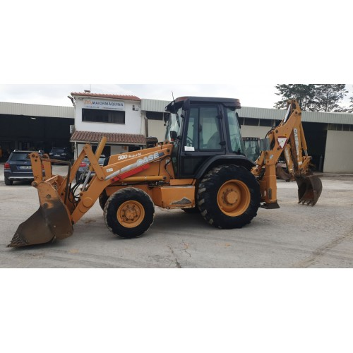 CASE BACK HOE LOADER